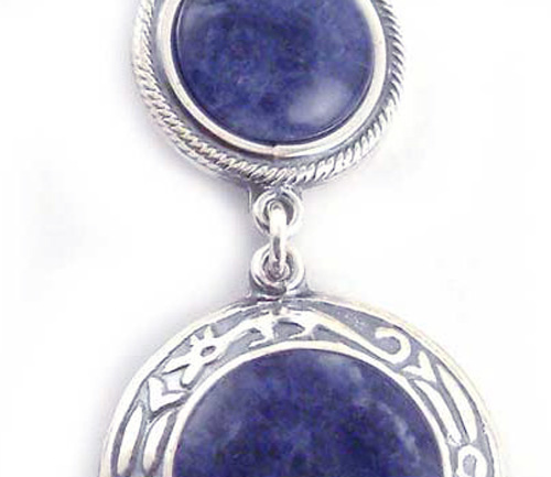 Lapis Lazuli and Sterling Silver Unity Necklace