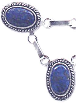 Sterling Silver Medallions Semicollar