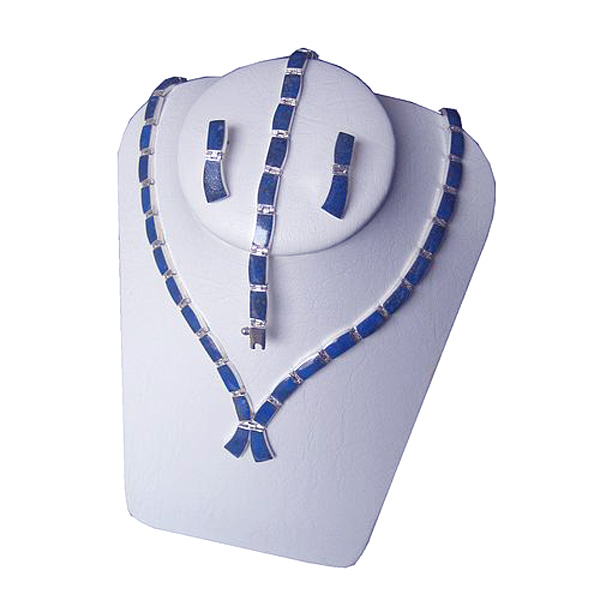 Single Ribbon Shaped Lapis Lazuli Set
