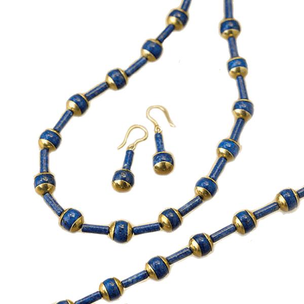 Nefertiti Lapis Lazuli Set