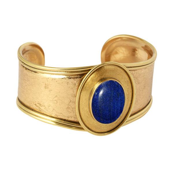Gold Vermeil Gladiator Cuff Bracelet
