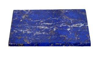 Rectangular 10 cm EXTRA BLUE Lapis Lazuli Tiles