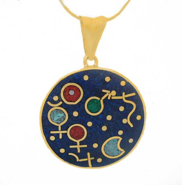 14K Gold Cosmic Moment Charm