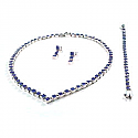 Classic V-Point Square Module Lapis Lazuli Set