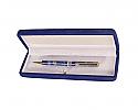 Gold Plated Lapis Lazuli Ballpoint Pen