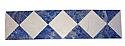 Gemstone Moldings:  Lapis Lazuli and Marble Checkerboard Moldings