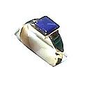 18K Gold Chevalier Ring