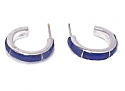 Cleo Sterling Silver Hoop Earrings