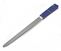 Large Silver Plated Division Handle Lapis Lazuli Letter Opener