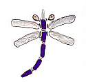 Sterling Silver Dragon Fly Pendant