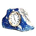 Lapis Lazuli Coffee Table Clock