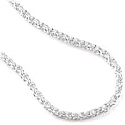 30 mm Sterling Silver Rope Chain