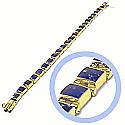 18K Gold Medium Module Hinge Bracelets