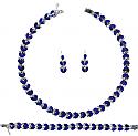 Heart Lapis Lazuli Hinge Set