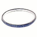 Tubular Sterling Silver Cuff Bracelet