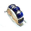 18K Gold Crown Ring