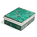 Square Malachite Box