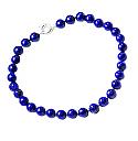 10 mm Lapis Lazuli Bead Necklace