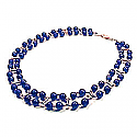 Two Tier 6 mm Bead Necklace