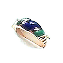 18K Gold Sculpted Ring