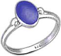 Medium Oval Sterling Silver Ring