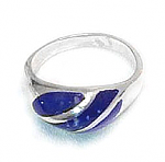 Three Thick Bands Crown Ring