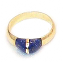 18K Gold Grain Ring