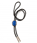 Sterling silver and Lapis Lazuli Bolo Tie