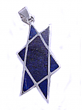 Art Deco Star of David Pendant