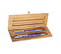 Silver Plated Lapis Lazuli Pen and Mechanical Pencil Set
