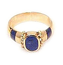 18K Gold Princess Ring