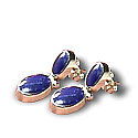 18K Gold Hinge Hanging Earrings