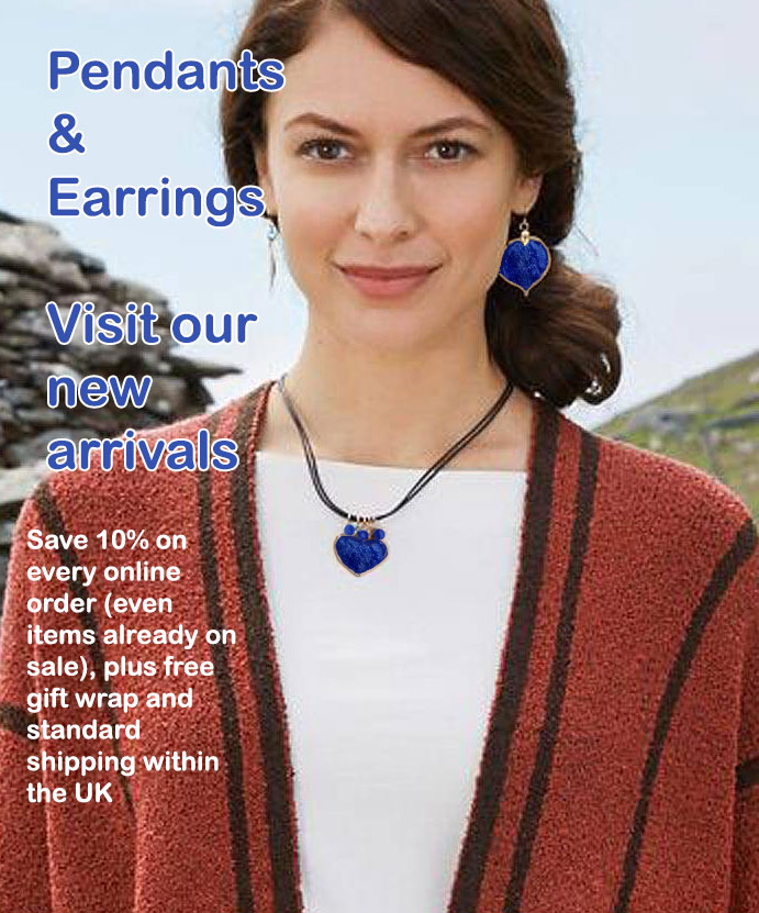Lapis Lazuli World UK Pendants and Earrings 2020